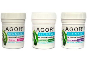 Powder Face Masks with Kelp by Agor