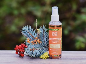 YAKA hair care with sea buckthorn