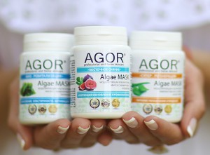 Alginate Peel-Off Face Masks by Agor