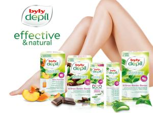 BYLY Wax Strips for At-Home Hair Removal