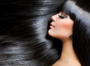 How to Dye Your Hair Black Without Chemical Dyes