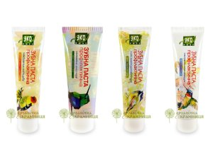 Natural Toothpastes by Ekolux