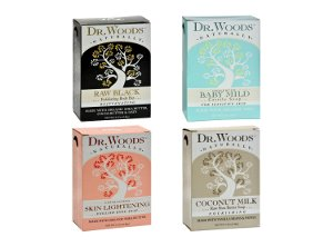 All-Natural Bar Soaps by Dr. Woods