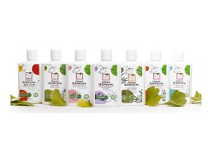 EcoKrasa Shampoos with Ginkgo Extract