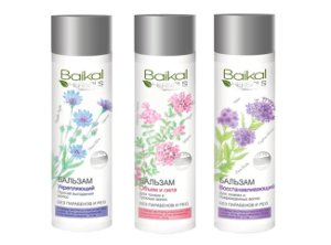Hair Conditioners with Natural Herbal Extracts by Baikal Herbals
