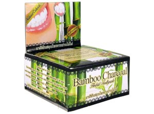 Natural Toothpaste with Bamboo Charcoal from Thailand