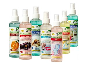 Probiotic Disinfectant and Odour Remover Sprays by Organics